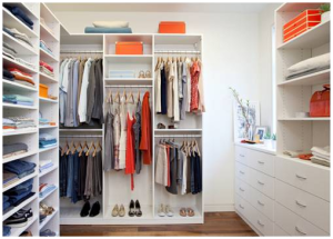 1. Start By Throwing Out The Clothes You No Longer Wear.