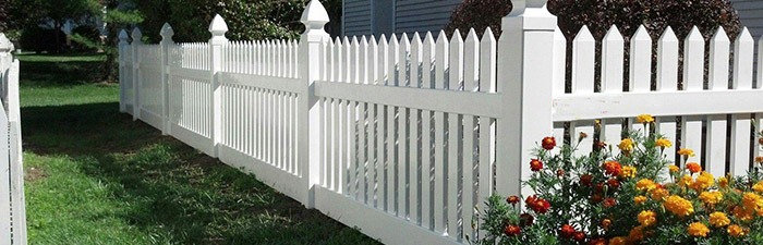 many homeowners prefer vinyl or pvc fence to wood often it can create the exact same effect but it actually last much much longer than wood