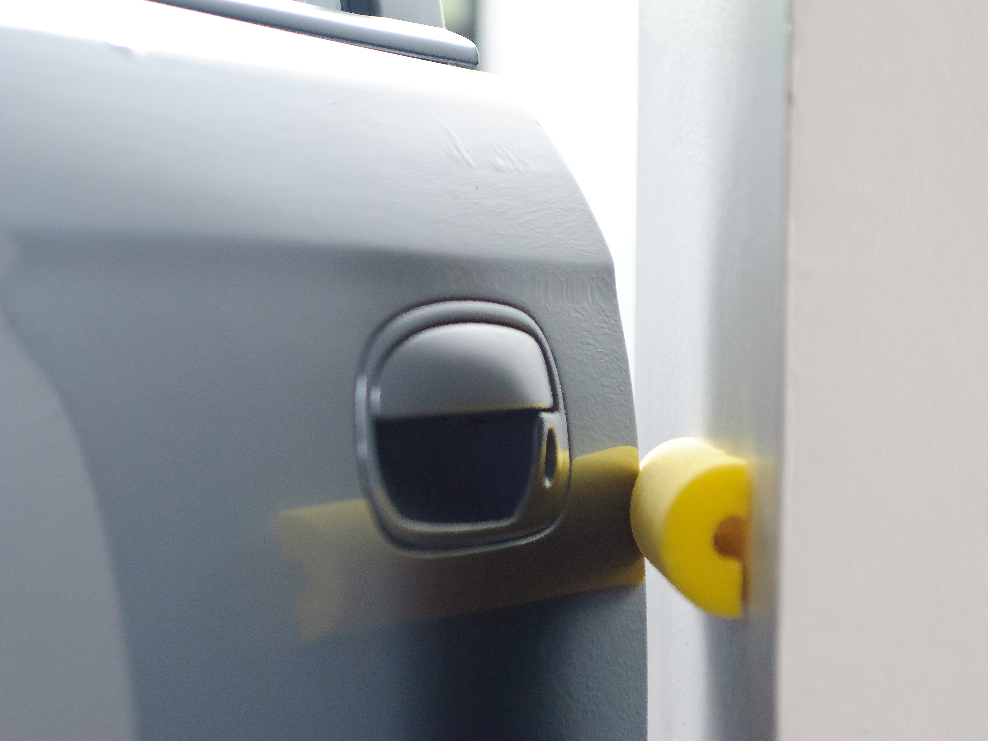 garage door protectorHow to Make a Door Bumper For Your Garage with a Pool Noodle